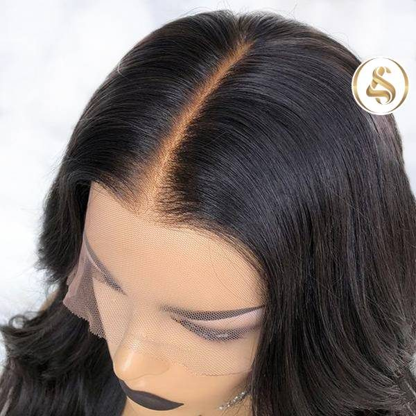 Trina - 6'' Deep Body Wave Transparent Lace Front Wig