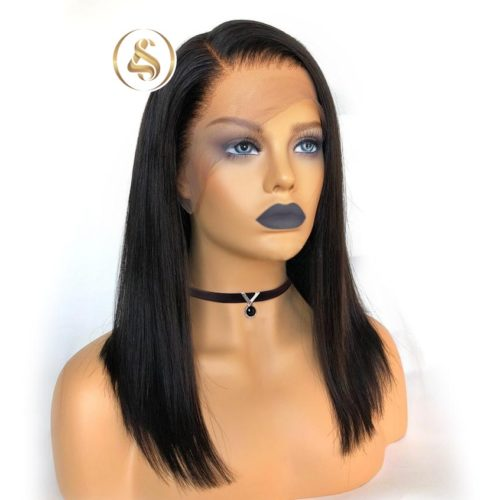 "Ley - 4"" Lace Front Brazilian Human Hair Wig"