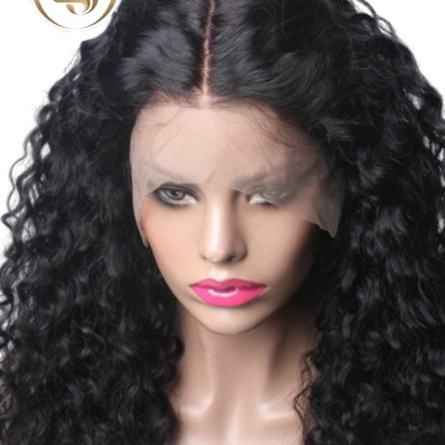 Bia - 6'' Curly Lace Front Human Hair Wigs