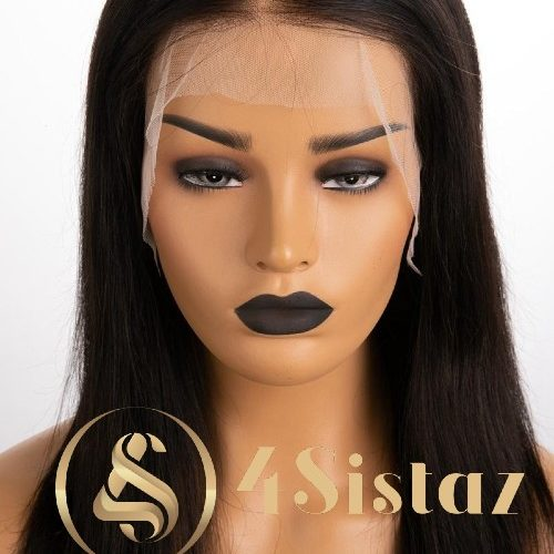 Ali - Straight Fake Scalp Lace Front Wig