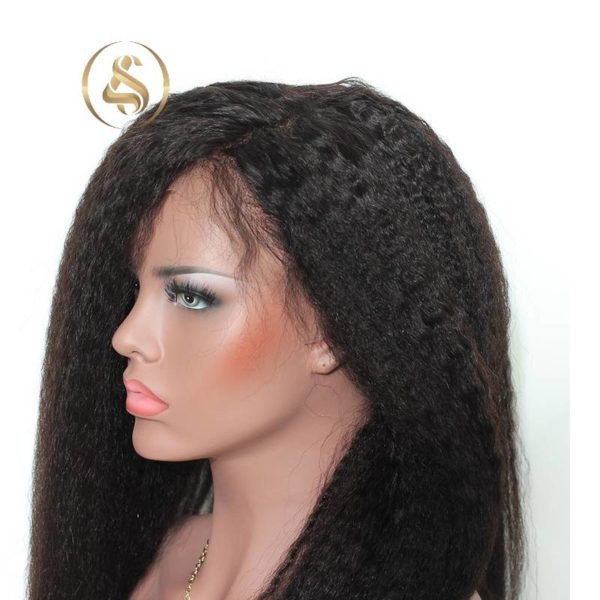 Clare – Kinky Straight Lace Front Wig
