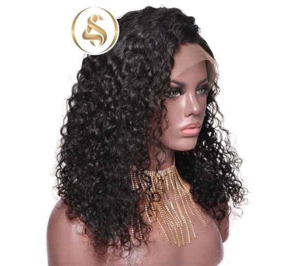Lola - Curly Full Lace Human Hair Wig