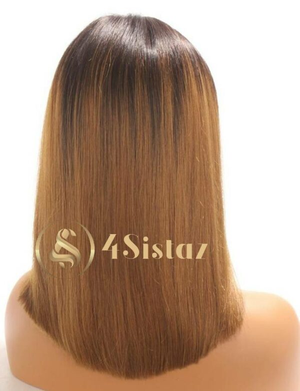 Bless - Ombre Lace Front Human Hair Wig