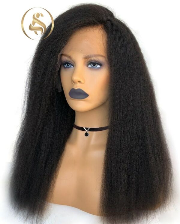 Lola - Kinky Straight Lace Front Wig